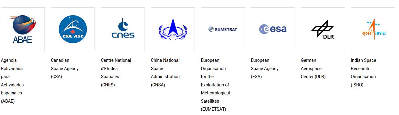 Noms et logos des membres de la Charte